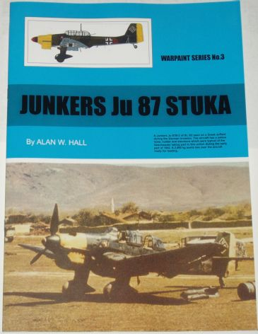 Junkers Ju 87 Stuka, by Alan W. Hall